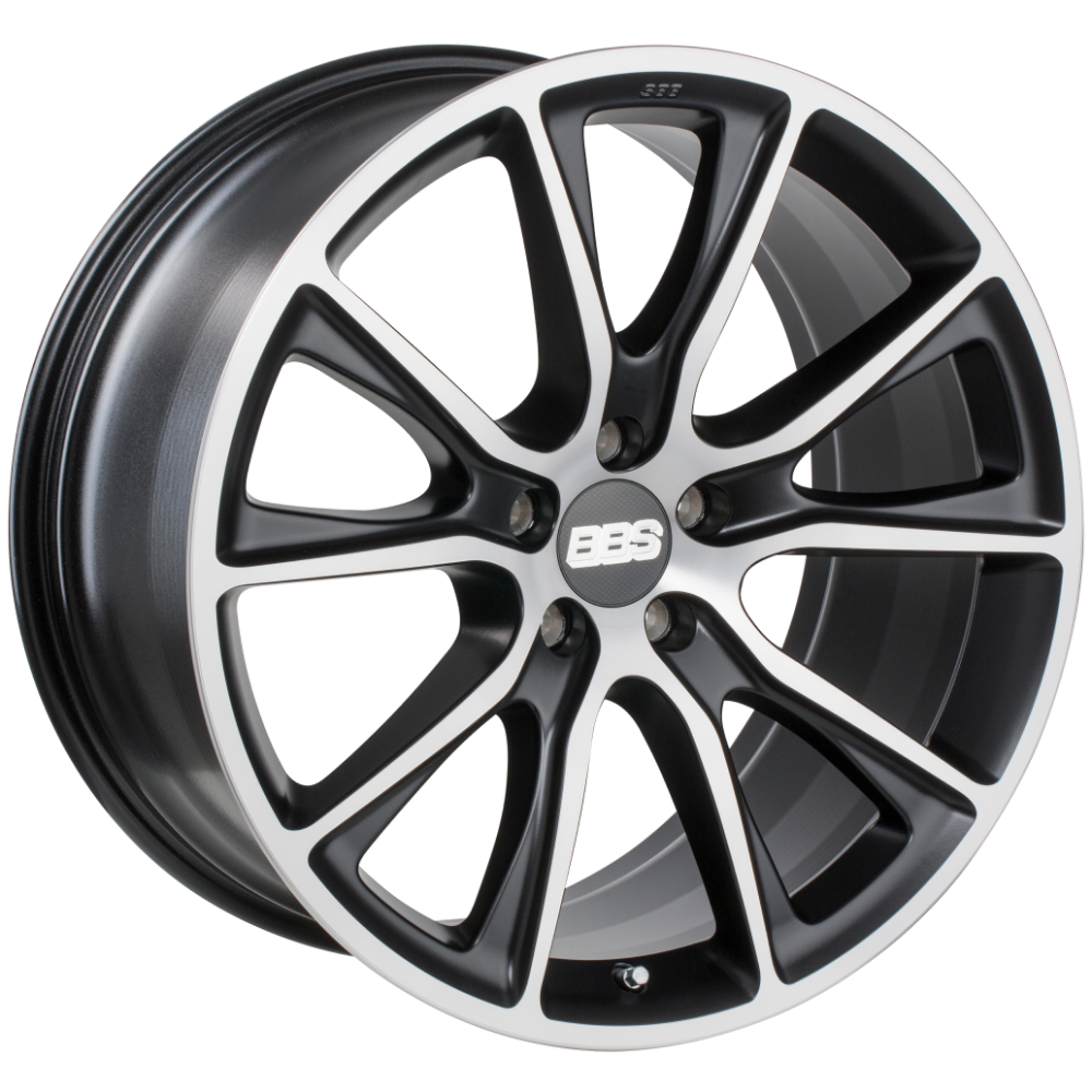 Диск колесный BBS SV 10.5x22 5x130 ET50 CB71.6 satin black/diamond cut