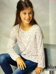 Блузка для девочки Alive
