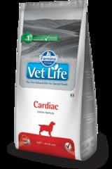 Корм для собак, FARMINA Vet Life CARDIAC, при сердечной недостаточности