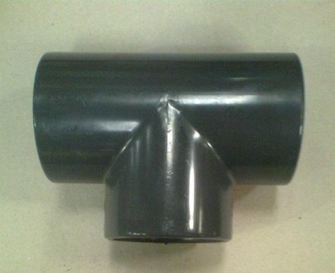 13000101 Тройник ПВХ диа. 63 мм