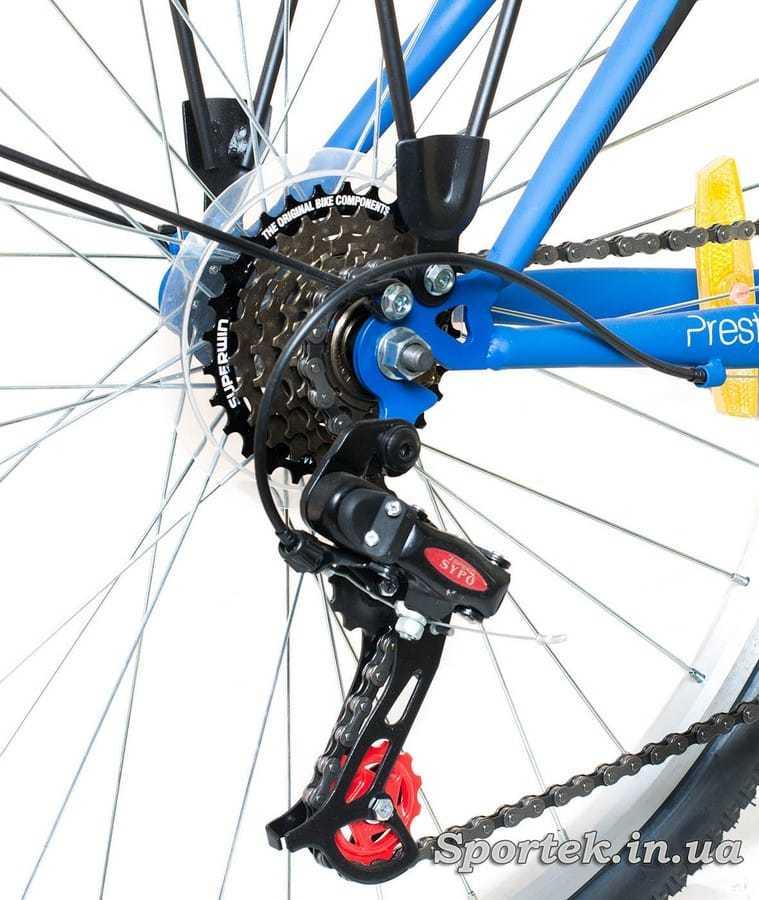 Кассета городского мужского велосипеда Discovery Prestige Man