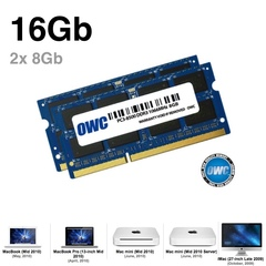 Комплект модулей памяти OWC 16GB (набор 2x 8GB) 1333MHZ DDR3 SO-DIMM 10600 для Apple 2011 iMac, mac mini, macbook pro