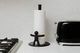 Держатель бумажных полотенец Buddy черный Umbra 330280-040 | Купить в Москве, СПб и с доставкой по всей России | Интернет магазин www.Kitchen-Devices.ru