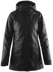 Куртка-Парка тёплая удлинённая Craft Parker женская чёрная