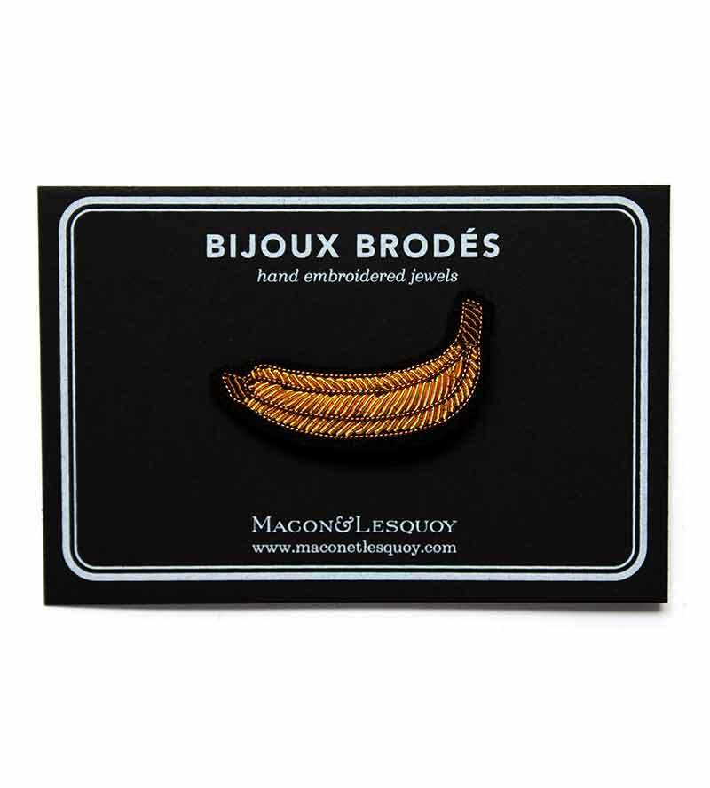 Брошь Banana от Macon&Lesquoy