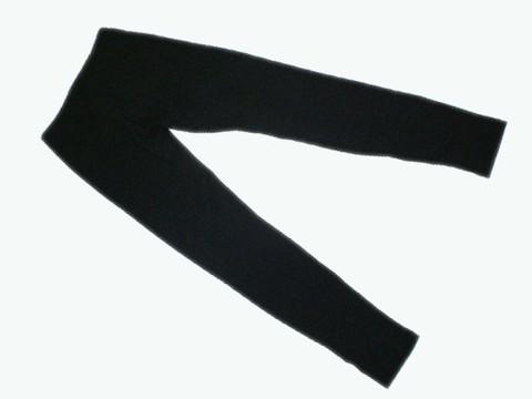 Лосины детские. Цвет чёрный. Размер 28. :(Л23-361):