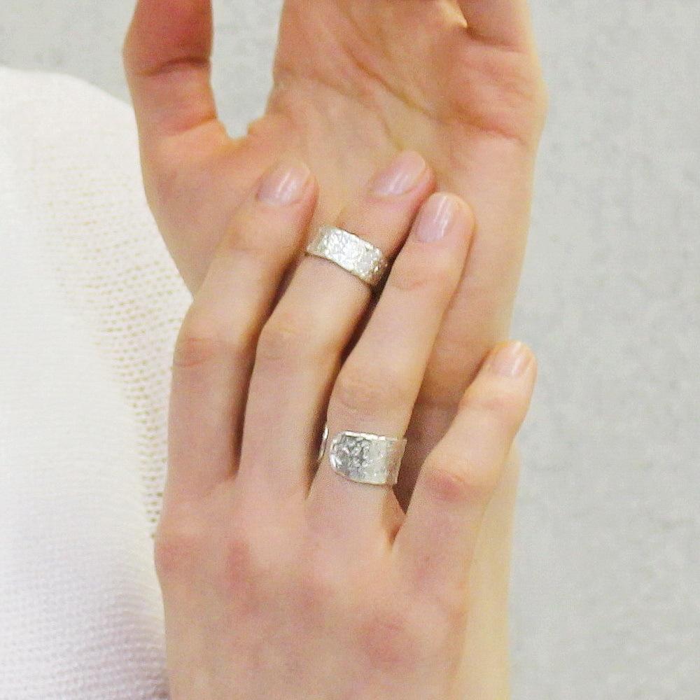 Phalanx Ring Ingot, the big one, Sterling Silver
