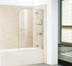 Стеклянная шторка на ванну WeltWasser WW100 100D2AK 100