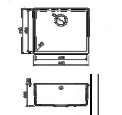 Схема Omoikiri Bosen 54-U-PL
