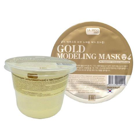 La Miso Gold Modeling Mask - Маска моделирующая (альгинатная) с частицами золота