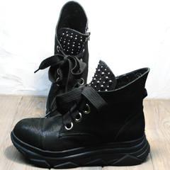 Ботинки женские Rifellini Rovigo 525 Black