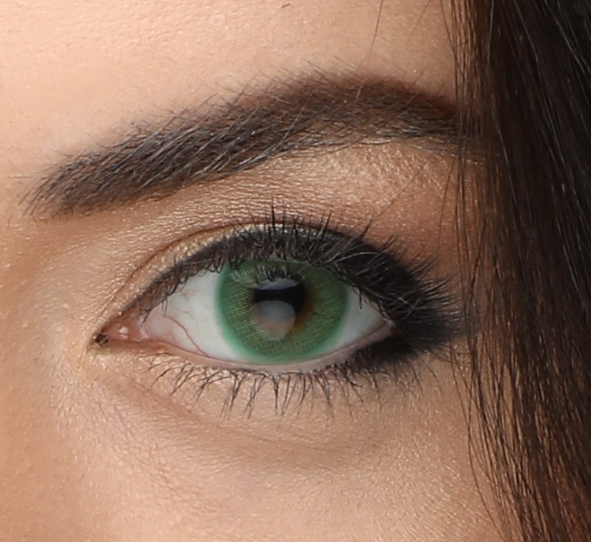 Оттеночные линзы для карих глаз фото