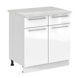 Кухня Капля 3D Шкаф нижний С2Я 800