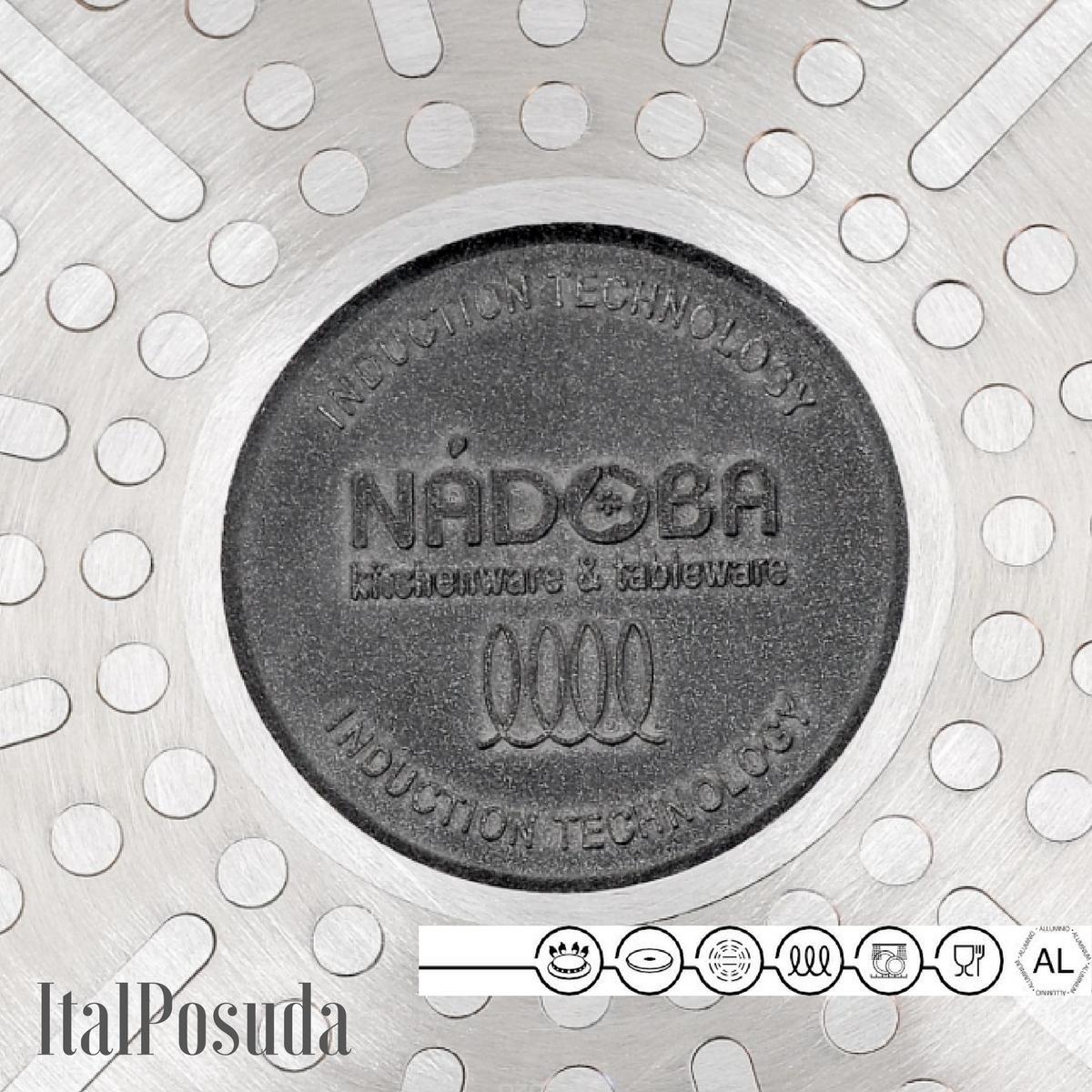 Сковорода со съемной ручкой NADOBA VILMA, 20 см