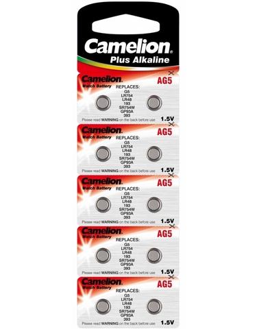 Батарейки Camelion AG 5 / 10 BL
