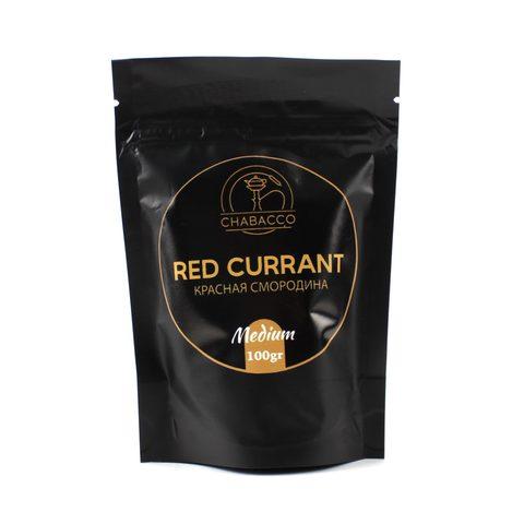 Кальянная смесь Chabacco Medium 100 гр Red Currant