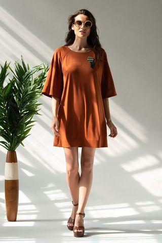 Платье 60422-3 терракотовый Laete