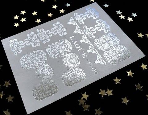 Слайдер-дизайн #F-09 (Серебро)