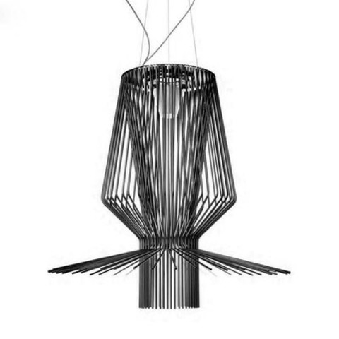 Подвесной светильник копия Allegretto Assai 2 by Foscarini (черный)
