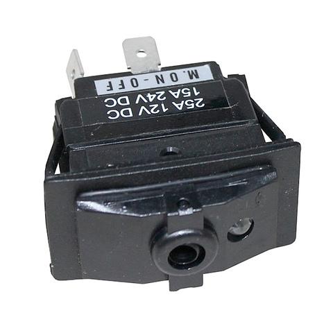Переключатель ВКЛ-ВЫКЛ, герметичный, с подсветкой