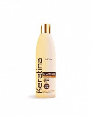 Кератиновый укрепляющий шампунь для всех типов волос KERATINA, 500 мл., Kativa