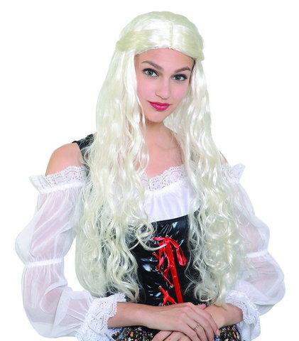 Парик Средневековая Дама блондинка