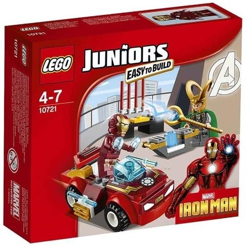 LEGO Juniors: Железный человек против Локи 10721 — Iron Man vs. Loki — Лего Джуниорс Подростки