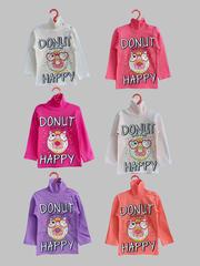 Водолазка для девочек 1-4 (Donut)