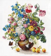 Набор для вышивания Алиса Поэзия цветов. Благоухание лета