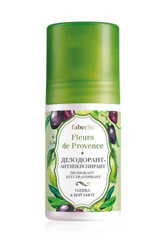 Дезодорант-антиперспирант «Олива & бергамот» Fleurs de Provence