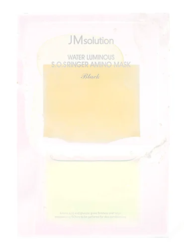 JMsolution Water Luminous SOS Ringer Amino Mask маска для лица