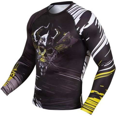 Рашгард Venum Viking Rashguard Long sleeves Black