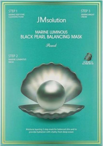 Тканевые JMsolution Marine Трёхшаговый набор для сияния кожи  Luminous Black Pearl Balancing Mask Screen_Shot_2020-05-02_at_13.46.59.png