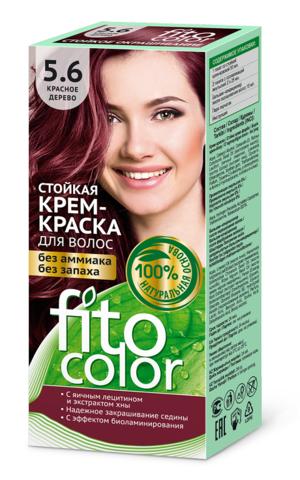 Фитокосметик Fito Color Стойкая крем-краска для волос тон Красное дерево 115мл