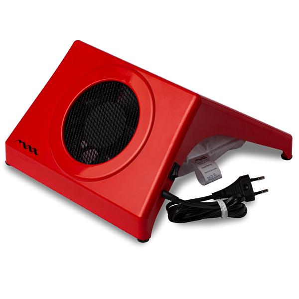 Настольная вытяжка для маникюра MAX Storm 4 Красный (32Вт max), без подушки фото