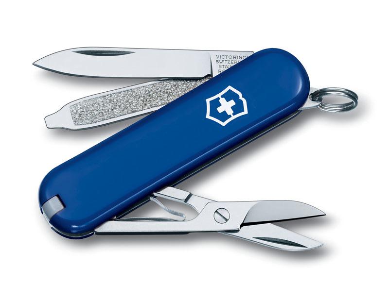 Нож-брелок VICTORINOX Classic SD 58 мм 7 функций синий VC6223.2