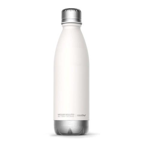 Термос-бутылка Asobu Central park (0,51 литра), белая/серебристая