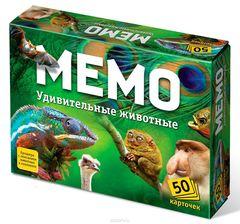 Мемо: Удивительные Животные