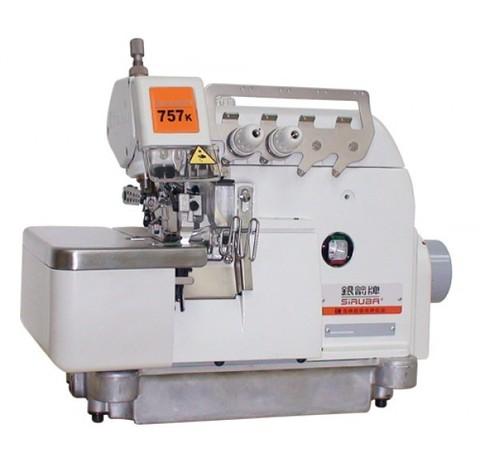 Краеобметочная пятиниточная швейная машина Siruba 757K-516H4-35/GA/P | Soliy.com.ua