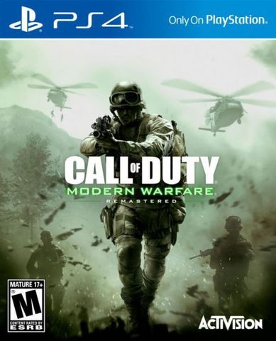 PS4 Call of Duty: Modern Warfare Remastered (русская версия)