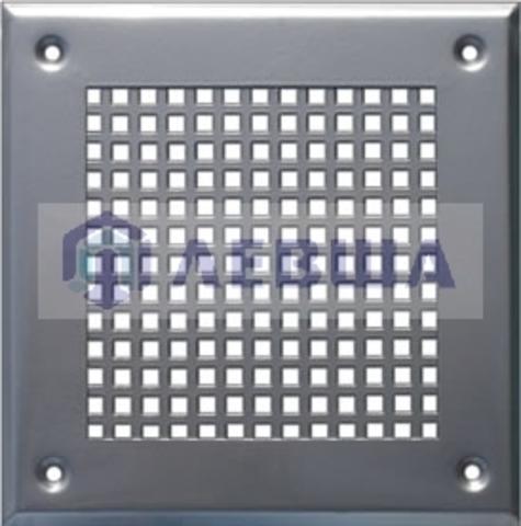 Решётка 150х150 мм, перфорация крупный квадрат