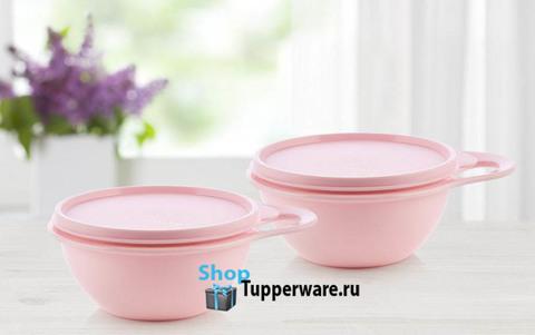 Чаши Милиан 600мл 2штуки розовые