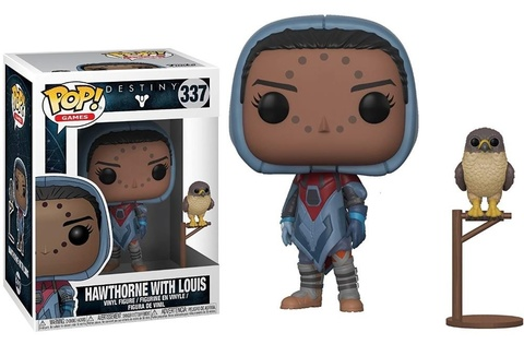Фигурка Funko POP! Vinyl: Games: Destiny S2: Hawthorne w/ Hawk 30106