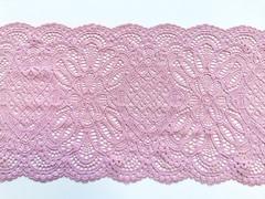 Эластичное кружево, ОПТ 22 см, нежно-розовое, (Арт: EK-2022), м
