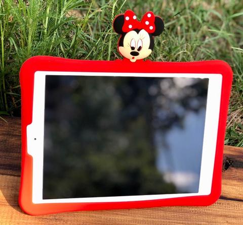 Накладка силикон iPad mini 1/2/3/4 Disney Minnie Mouse /red/