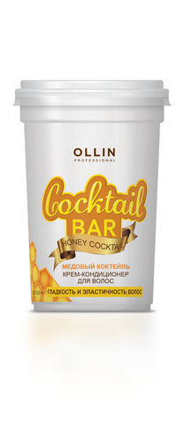 OLLIN крем-кондиционер для волос медовый коктейль гладкость и эластичность волос 250мл