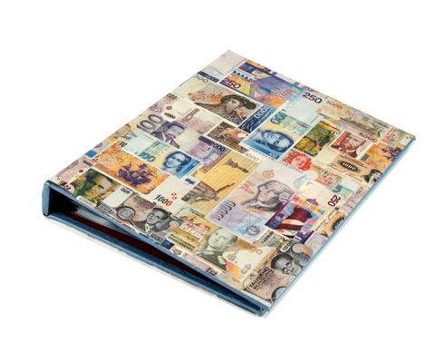 184289 Альбом для бумажных денег