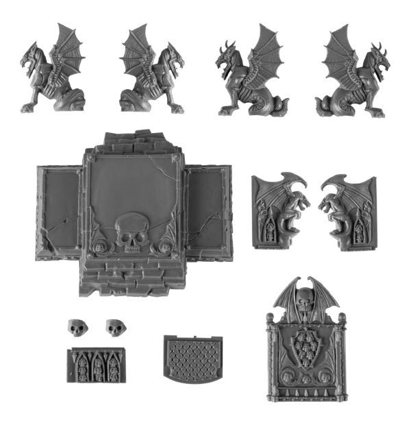 Magewrath Throne. Детали