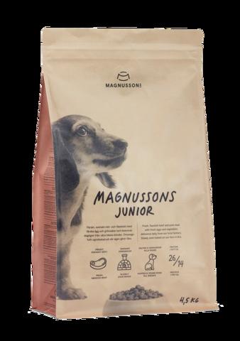 Корм для собак Magnusson Meat & Biscuit Junior 4.5 кг
