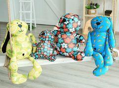 Подушка-игрушка антистресс «Цветочный Мишка» 6